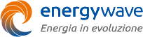 Logo energywave orizzontale